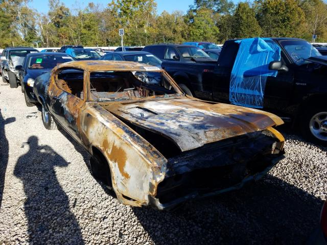 Oldsmobile salvage cars for sale: 1971 Oldsmobile Cutlass S