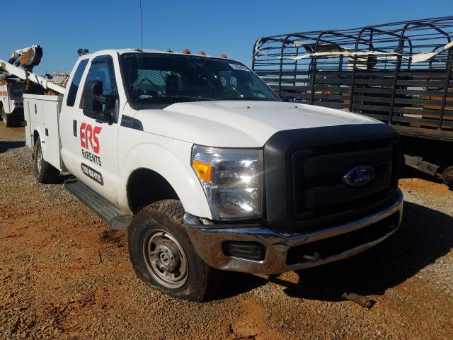 Salvage cars for sale from Copart Tanner, AL: 2016 Ford F350 Super