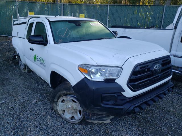 Salvage cars for sale from Copart Graham, WA: 2018 Toyota Tacoma ACC