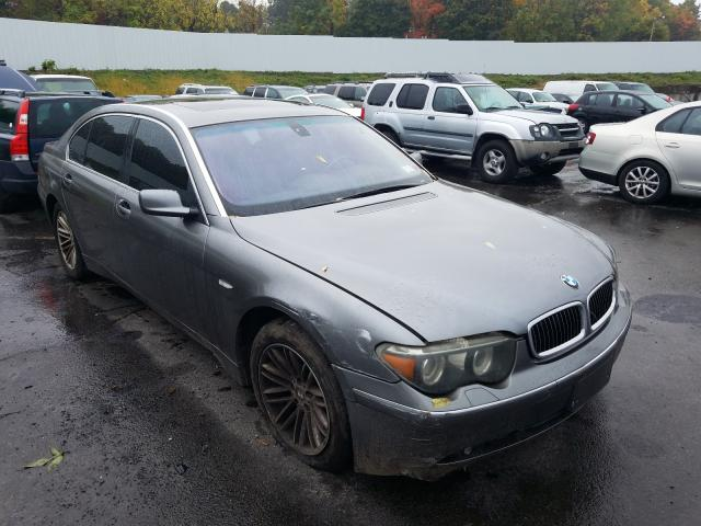 BMW 7 Series salvage cars for sale: 2004 BMW 7 Series