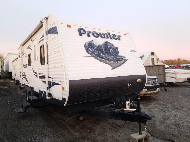 Prowler salvage cars for sale: 2013 Prowler Travel Trailer