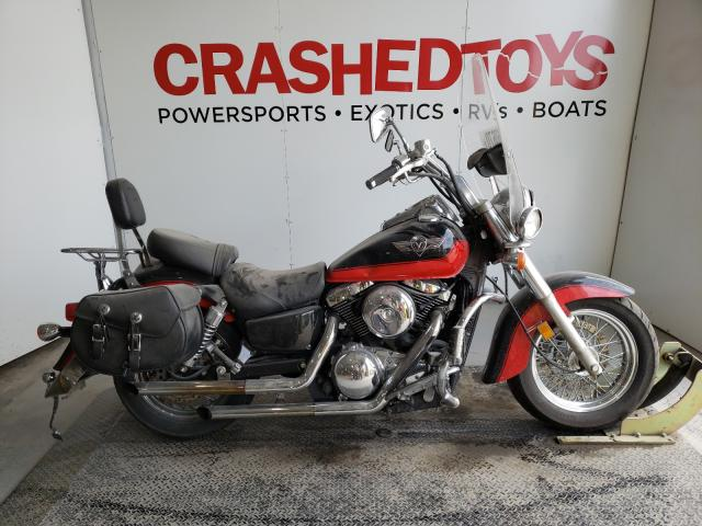 Salvage cars for sale from Copart Kansas City, KS: 2004 Kawasaki VN1500 E
