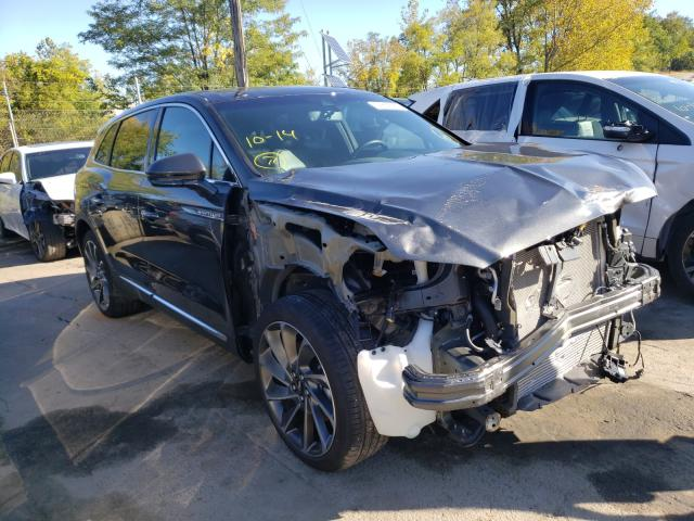 Lincoln Nautilus R salvage cars for sale: 2019 Lincoln Nautilus R