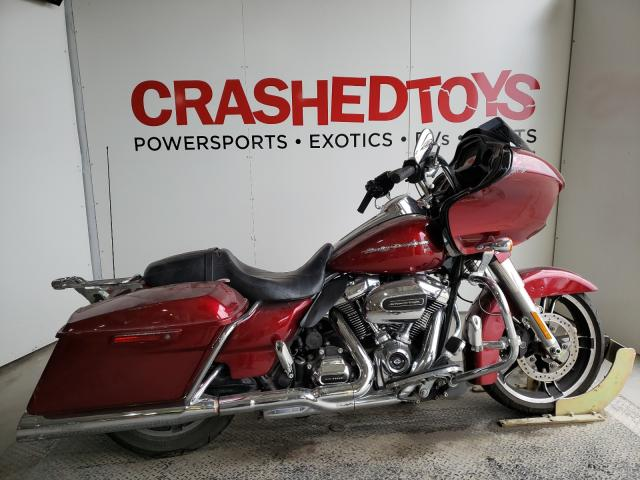 Salvage cars for sale from Copart Kansas City, KS: 2017 Harley-Davidson Fltrxs ROA