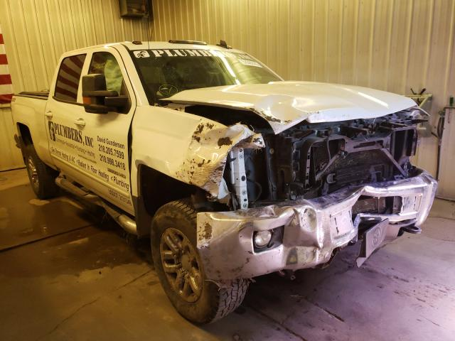 Salvage cars for sale from Copart Avon, MN: 2017 Chevrolet Silverado