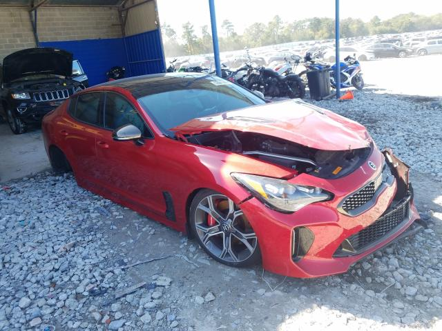 KIA salvage cars for sale: 2018 KIA Stinger GT