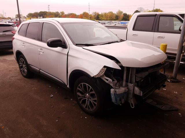 Mitsubishi salvage cars for sale: 2016 Mitsubishi Outlander