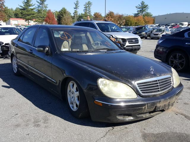 Salvage cars for sale from Copart Exeter, RI: 2000 Mercedes-Benz S 430