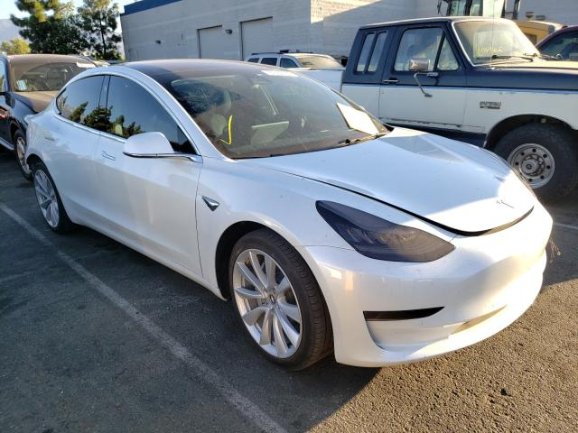 Salvage cars for sale from Copart Rancho Cucamonga, CA: 2020 Tesla Model 3