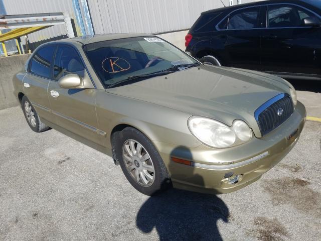 salvage title 2002 hyundai sonata sedan 4d 2 7l for sale in lawrenceburg ky 52674430 a better bid car auctions