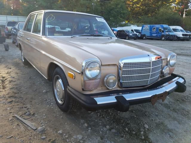 Salvage cars for sale from Copart Mendon, MA: 1974 Mercedes-Benz 230