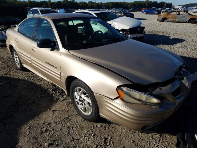 Pontiac Grand AM salvage cars for sale: 2001 Pontiac Grand AM