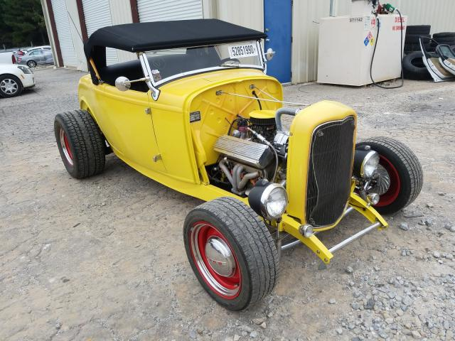 Ford Roadster salvage cars for sale: 1932 Ford Roadster