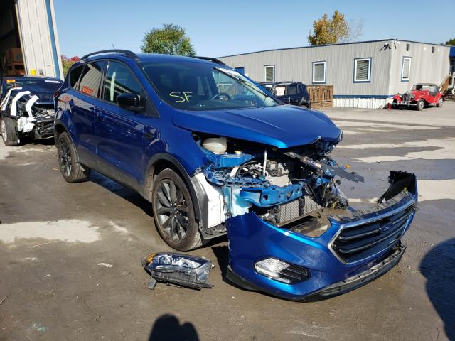 Salvage cars for sale from Copart Duryea, PA: 2019 Ford Escape SE