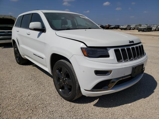 Salvage cars for sale from Copart San Antonio, TX: 2015 Jeep Grand Cherokee