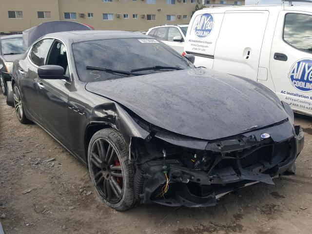 Salvage cars for sale from Copart Opa Locka, FL: 2015 Maserati Ghibli