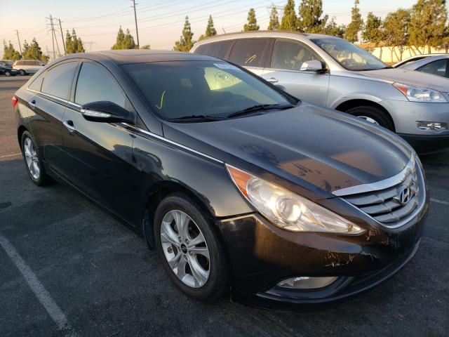 Salvage cars for sale from Copart Rancho Cucamonga, CA: 2011 Hyundai Sonata SE