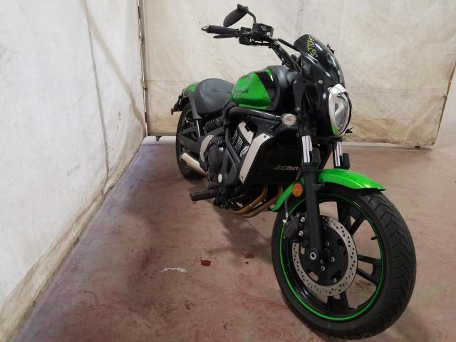 Kawasaki EN650 A salvage cars for sale: 2015 Kawasaki EN650 A