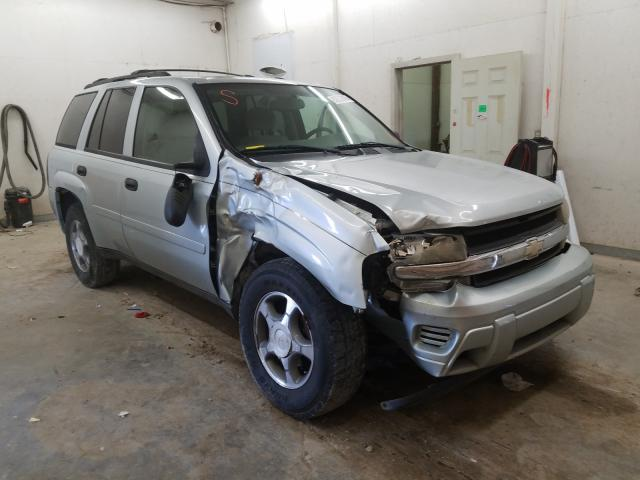 Chevrolet Trailblazer salvage cars for sale: 2008 Chevrolet Trailblazer