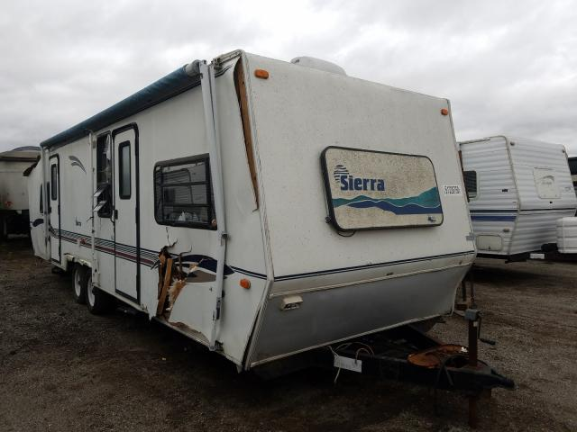 Sierra salvage cars for sale: 1999 Sierra Travel Trailer