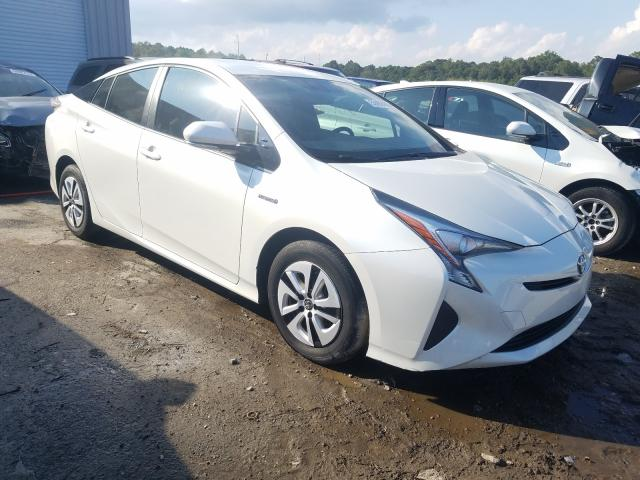 Salvage cars for sale from Copart Savannah, GA: 2016 Toyota Prius