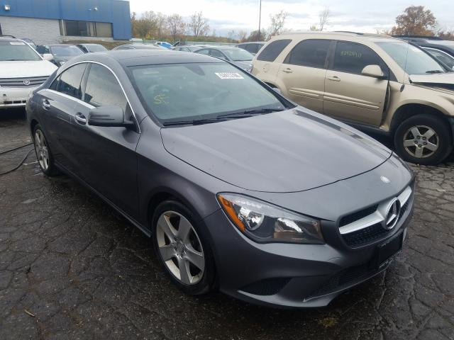 Salvage cars for sale from Copart Woodhaven, MI: 2015 Mercedes-Benz CLA 250 4M