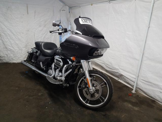 Salvage cars for sale from Copart Windsor, NJ: 2016 Harley-Davidson Fltrx Road