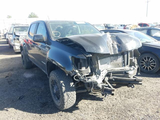 Salvage cars for sale from Copart Albuquerque, NM: 2017 Chevrolet Colorado Z