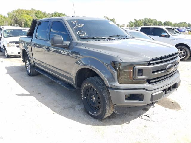 Salvage cars for sale from Copart Riverview, FL: 2018 Ford F150 Super