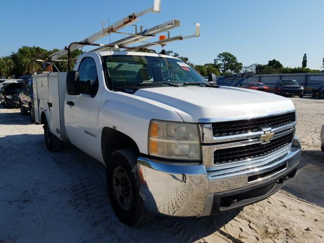 Salvage cars for sale from Copart Fort Pierce, FL: 2007 Chevrolet Silverado
