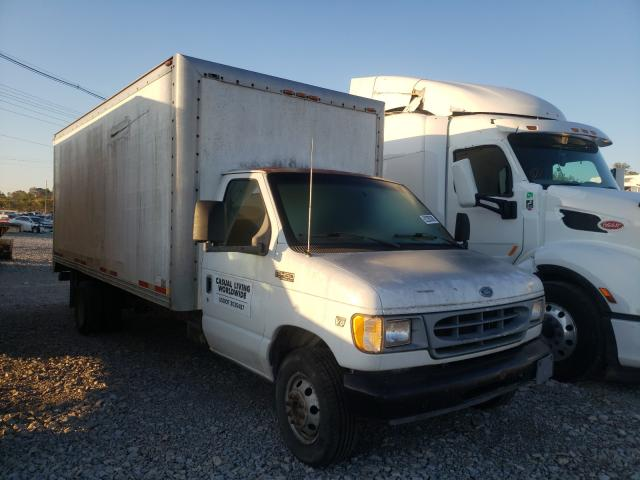Salvage cars for sale from Copart Lawrenceburg, KY: 2001 Ford Econoline