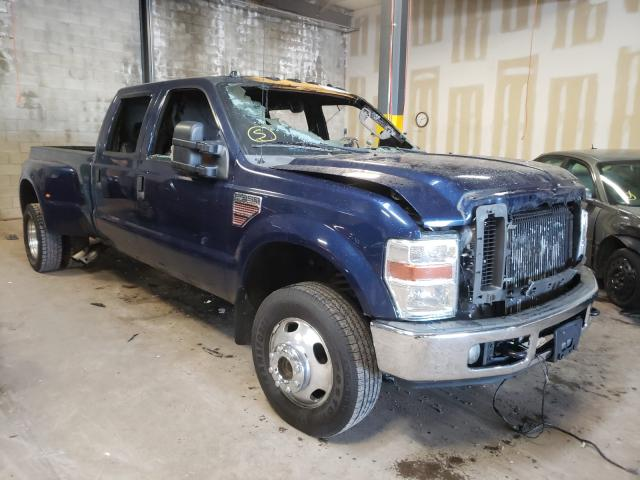 Salvage cars for sale from Copart Chalfont, PA: 2009 Ford F350 Super