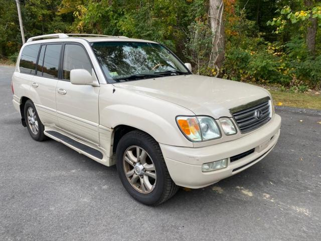 Salvage cars for sale from Copart Mendon, MA: 2003 Lexus LX 470