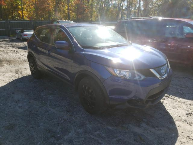 Salvage cars for sale from Copart Candia, NH: 2018 Nissan Rogue Sport