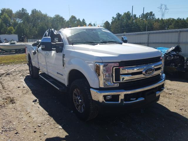 Salvage cars for sale from Copart Charles City, VA: 2019 Ford F350 Super
