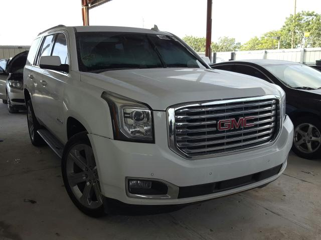 Salvage cars for sale from Copart Homestead, FL: 2018 GMC Yukon SLE