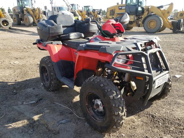 Salvage cars for sale from Copart Elgin, IL: 2017 Polaris Sportsman