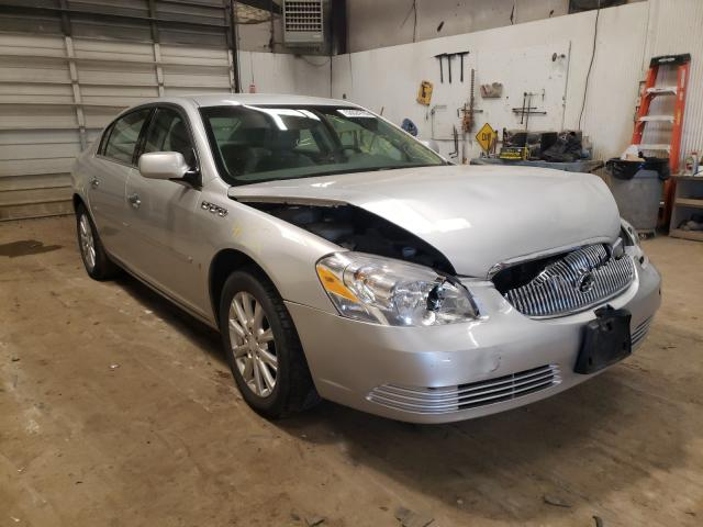 Salvage cars for sale from Copart Casper, WY: 2009 Buick Lucerne CX