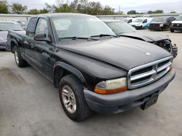 Dodge Dakota SXT salvage cars for sale: 2002 Dodge Dakota SXT