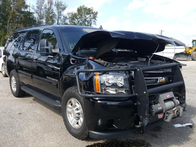 Salvage cars for sale from Copart Harleyville, SC: 2011 Chevrolet Suburban K