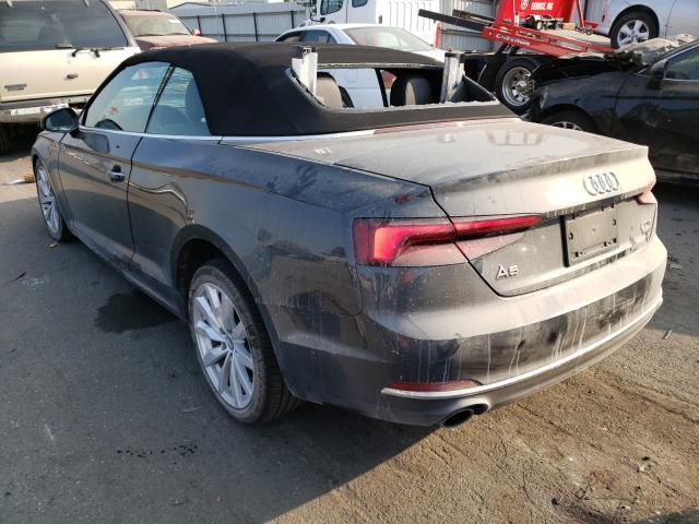 купить 2018 Audi A5 Premium 2.0L WAUWNGF52JN016774