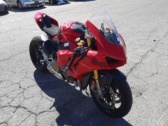 Salvage cars for sale from Copart Las Vegas, NV: 2020 Ducati Panigale V