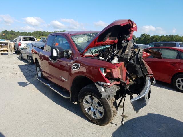 Salvage cars for sale from Copart Savannah, GA: 2017 Nissan Titan SV
