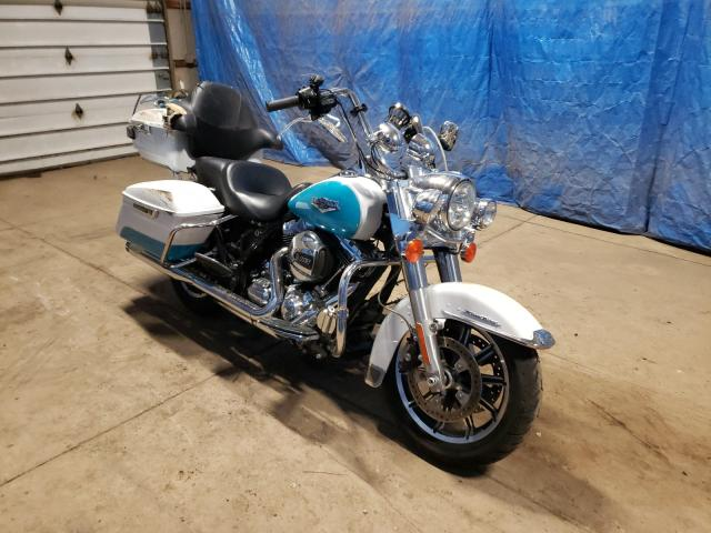 Salvage cars for sale from Copart Columbia Station, OH: 2016 Harley-Davidson Flhr Road
