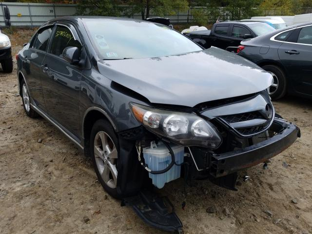Salvage cars for sale from Copart Mendon, MA: 2012 Toyota Corolla BA