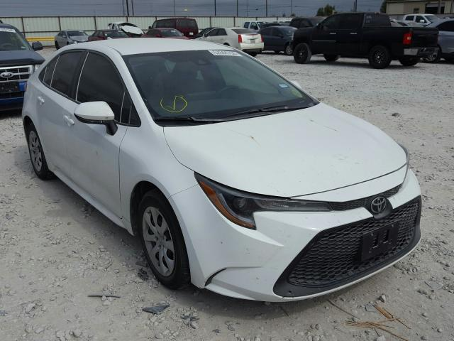 Salvage cars for sale from Copart Haslet, TX: 2020 Toyota Corolla LE