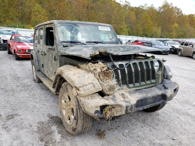 Salvage cars for sale from Copart Hurricane, WV: 2020 Jeep Wrangler U