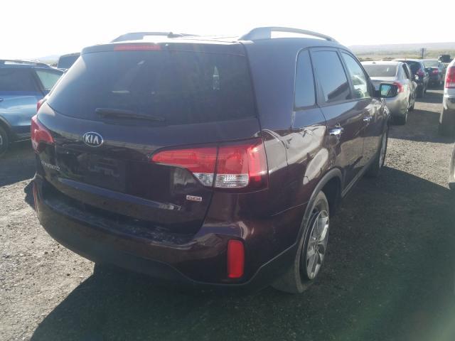 цена в сша 2014 Kia Sorento Lx 2.4L 5XYKT3A61EG484363