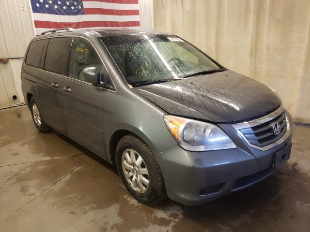 Salvage cars for sale from Copart Avon, MN: 2008 Honda Odyssey EX