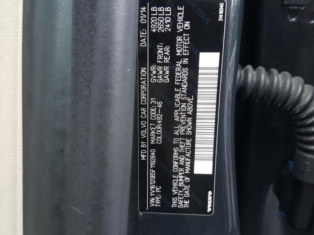 2015 VOLVO V60 PREMIE YV1612SB5F1192840